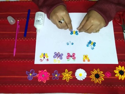 18. How to make a Quilling Butterfly Part 2