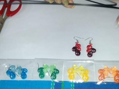 25. How to make Quilling Drop Earrings