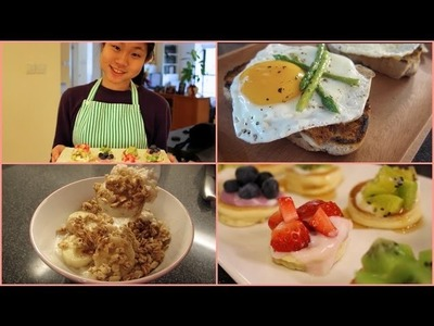 3 Easy and Yummy Weekend Breakfast Ideas!
