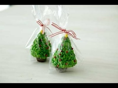 Christmas Desserts: How to Make Rice Krispies Trees