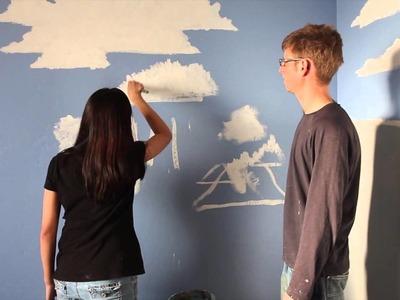 Dimi Paints a Cloud with Mural Joe