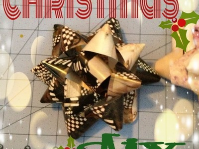 DIY: Gift Bows. . . Its CHRISTMAS time!!!