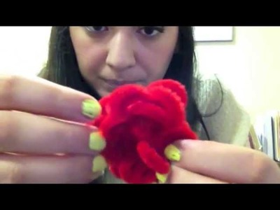 DIY: Pipe Cleaner Flower.Ring