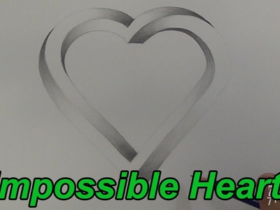 Drawing An Impossible Heart (Time Lapse)