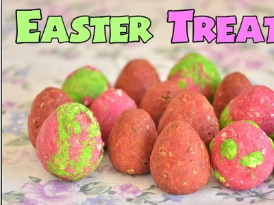 EASTER EGG RODENT TREATS!