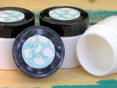 Easy Homemade Lip balm