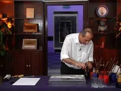 Ebru yapımı (How to make marbling)