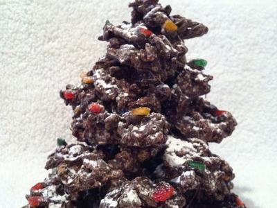 Edible Chocolate Christmas Tree