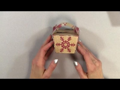 Five Minute Christmas Box or Party Favor