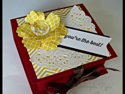 Flip Top Post it Note Box