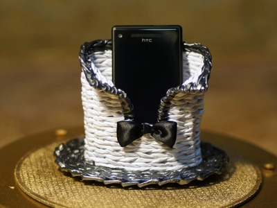 """Gift type cell phone stand """"Wholeheartedly"""".  Part 5.2."""