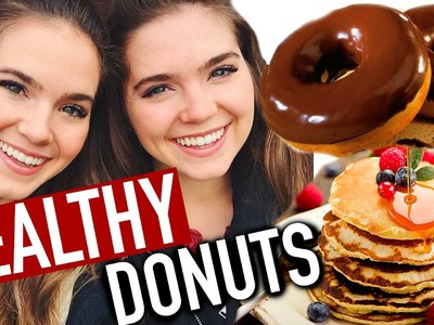 HEALTHY DONUT RECIPE - Low Fat, Vegan - EASY