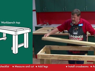 How To Build A Workbench - DIY At Bunnings