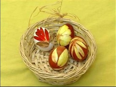 How to Decorate All-Natural Easter Eggs : Ideas for Decorating All-Natural Easter Eggs