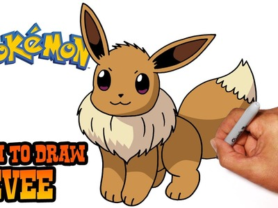 How to Draw Eevee (Pokemon)- Step by Step