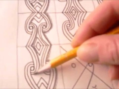 How to draw tanglepattern Beloved