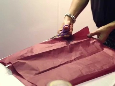 How To: Gift Wrap an Awkward Present