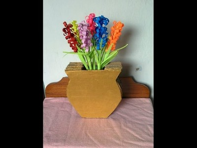How To Make a Cardboard Vase