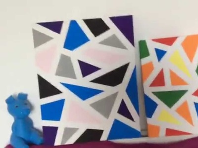 How To Make A Geometric Painting