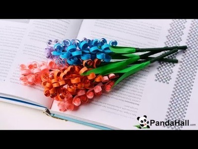 How to Make a Quilling Paper Flower Bouquet for Mother's Day