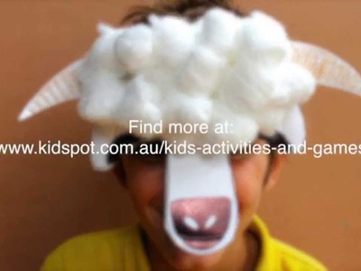 How to make a sheep mask for Chinese New Year