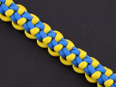 How to Make the Orr Springs Bar (Paracord) Bracelet by TIAT