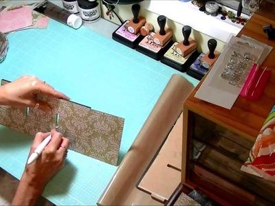 Kaisercraft large altered drawers tutorial, kaisercraft