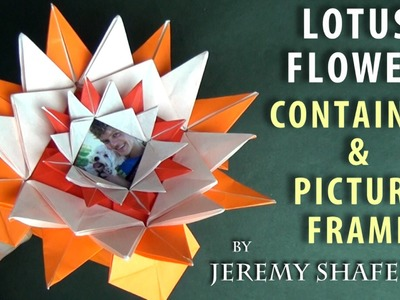 Lotus Flower Container & Picture Frame