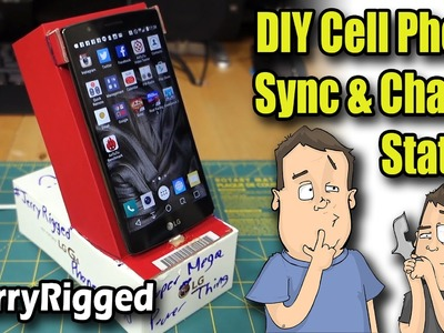 Making Smartphone Charge & Sync Station DIY - #JerryRigged