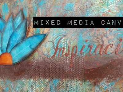 Mixed Media Canvas - Inspiracion