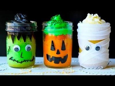 Monster Mason Jar Cakes!