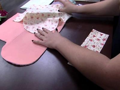 Mulher.com 22.04.2015 Ana Paula Stahl - Porta kit manicure patchwork Parte 1.2