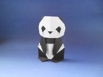 Origami Panda Bear (Origami Oso Panda) Tutorial - Makoto Yamaguchi