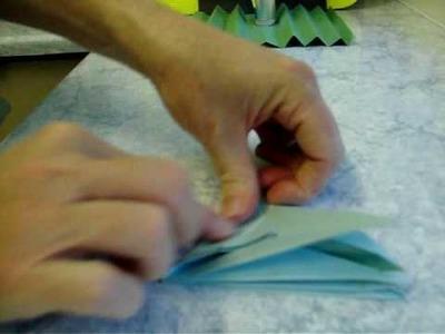 Origami rose (paper folding)