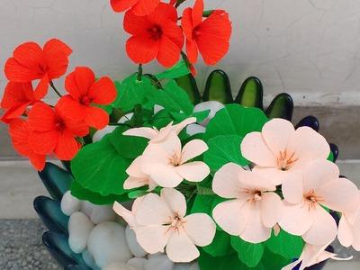 Paper Flower Geranium