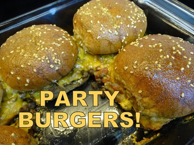 Party Burgers - with yoyomax12