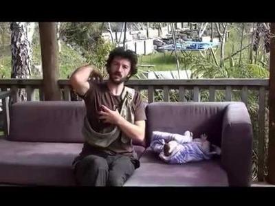 Sling Guy Tony, Aotearoa NZ  'At Home with Baby Fae'