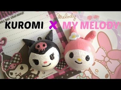 SQUISHY TRANSFORMATION: My Melody X Kuromi [Halloween Special]