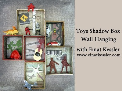Toys Shadow Box Wall Hanging