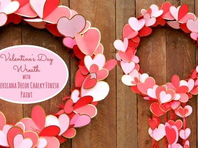 Turn a Pool Noodle into a Valentine's Wreath