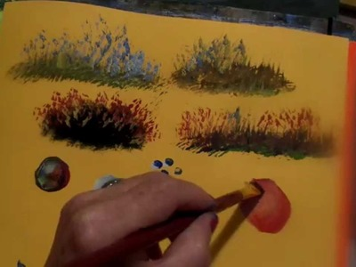 Acrylic Painting  Tips and Tricks on using your brushes 4