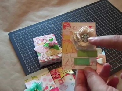 ATC Boxes for your ATC Cards.Tutorial