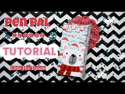 Christmas Pen Pal Flipbook Tutorial