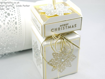 Cracker Box with Box Lid Top