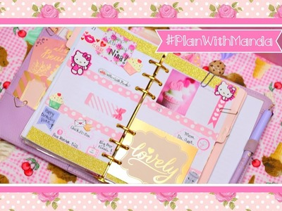 Decorating My Planner (Glam Kitty Week)