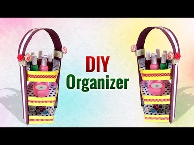 DIY Recycled Crafts : How to Make a DIY Cardboard Organizer | Girls Crafts