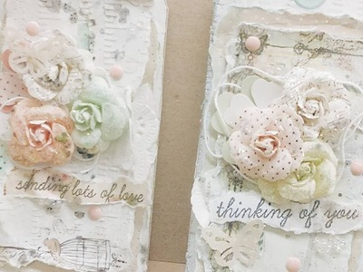 {EASY} | SHABBY CHIC TAG | TUTORIAL AND {UPCOMING USTREAM CLASS}