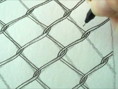 How to draw tanglepattern Chence