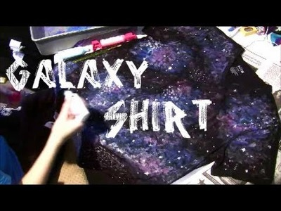 How To: Galaxy Shirt