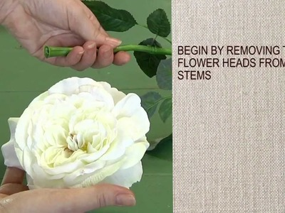 How to Make a Floral Sash